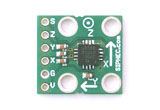 ADXL330 board, XYZ three axis accelerometer, 3-axis, +/-3g, ADXL330 accelerometer sensor, ADXL330KCPZ board, Analog Devices ADXL330 board, Analog Devices ADXL330KCPZ board